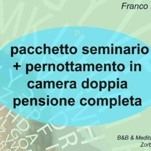 Franco Marmello risveglio della memoria creativa coupon seminario + pernottamento camera doppia con pensione completa