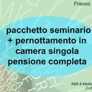 Franco Marmello risveglio della memoria creativa coupon seminario + pernottamento camera singola con pensione completa