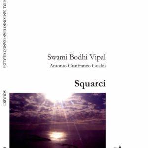 Fronte copertina squarci libro di poesie di ricerca di Vipal Antonio Gianfranco Gualdi