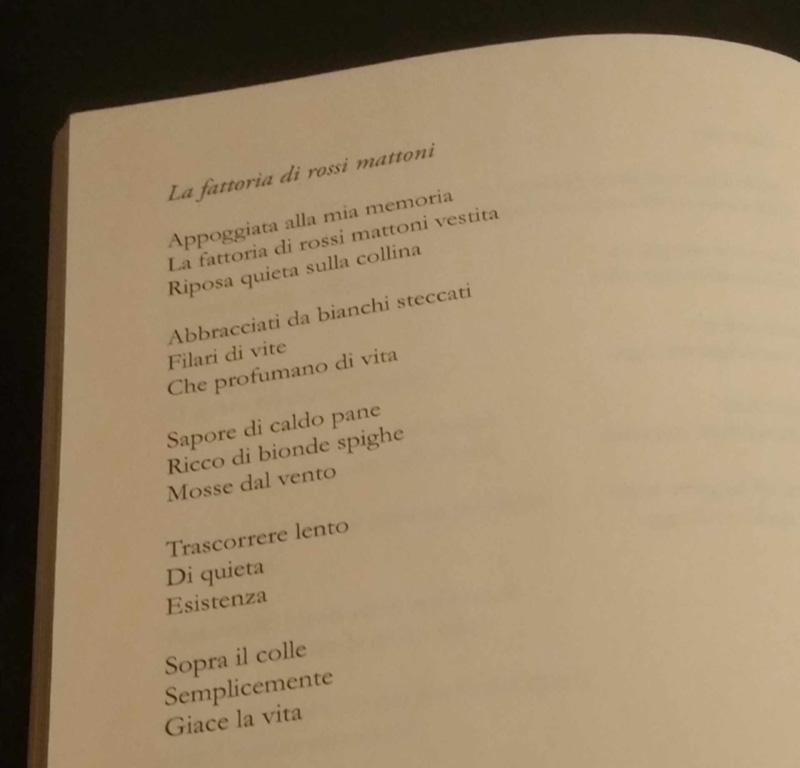 Poesia La Fattoria di Rossi Mattoni tratta libro squarci Swami Bodhi Vipal Antonio Gianfranco Gualdi