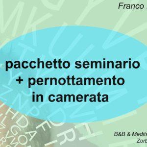 Franco Marmello risveglio della memoria creativa coupon seminario + pernottamento camerata con pensione completa