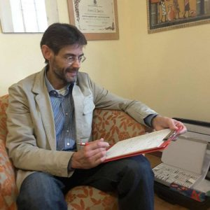 Germano Mondino counselor natiropata iridologo relatore presso B&B & Meditation Center Zorba Il Buddha Passerano Marmorito Asti