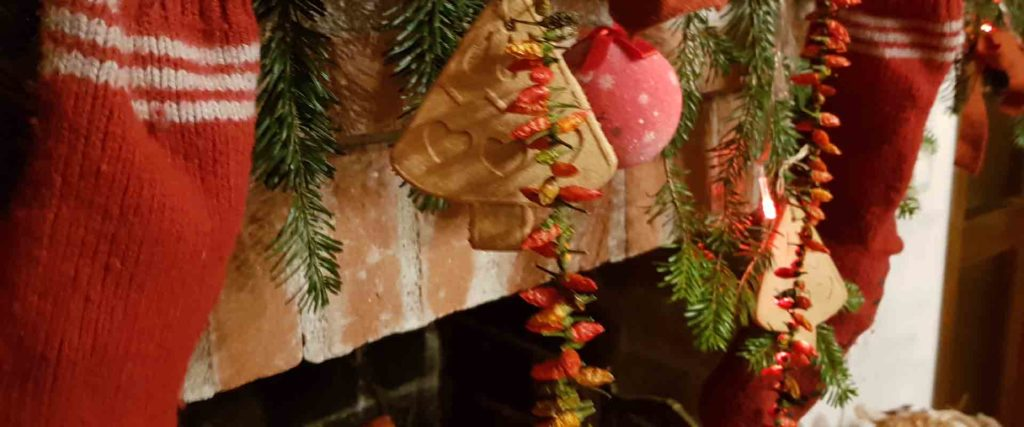 Natale 2019 composizione natalizia naturale B&B & Meditation Center Zorba Il Buddha Passerano Marmorito (AT)