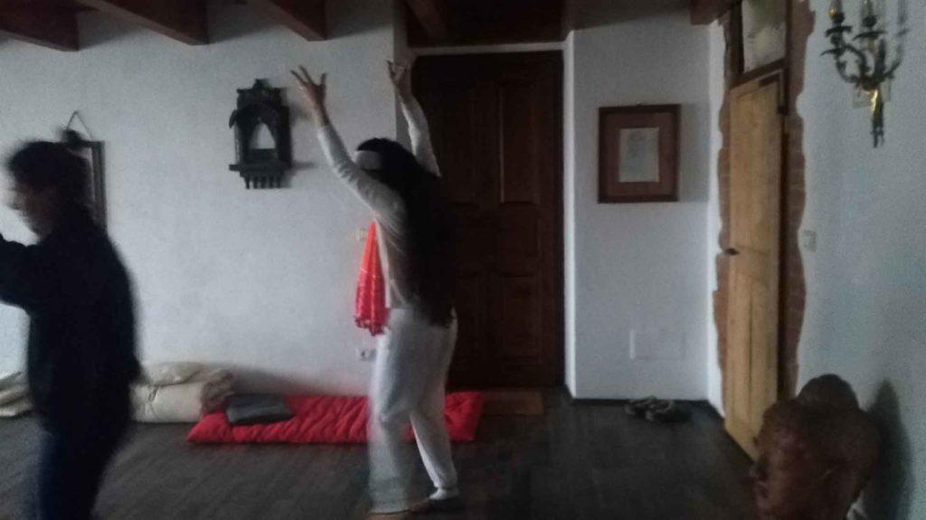 Buddha hall sala meditazione risveglio energetico B&B & Meditation Center Zorba Il Buddha Passerano Marmorito (AT)