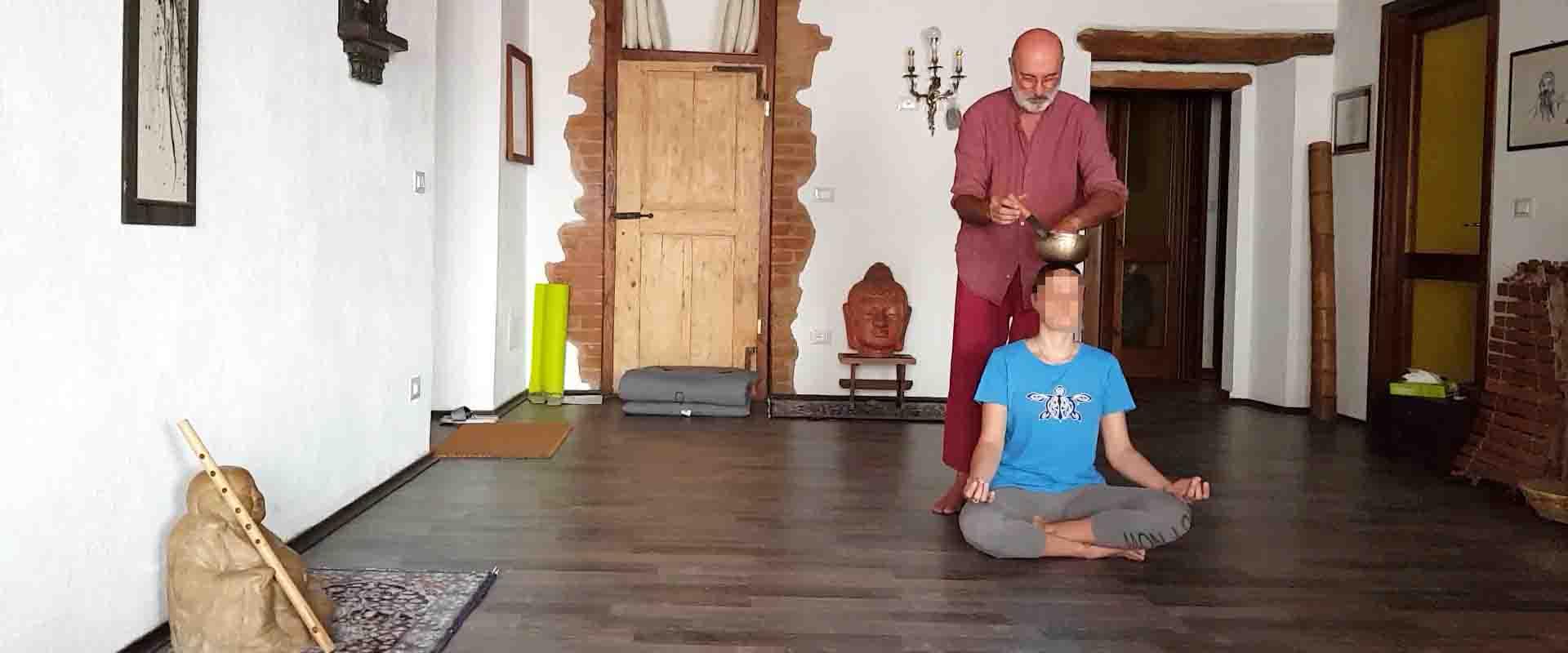 Bagno sonoro tibetano 7 chakra Vipal Antonio Gianfranco Gualdi centro meditazione Zorba Il Buddha