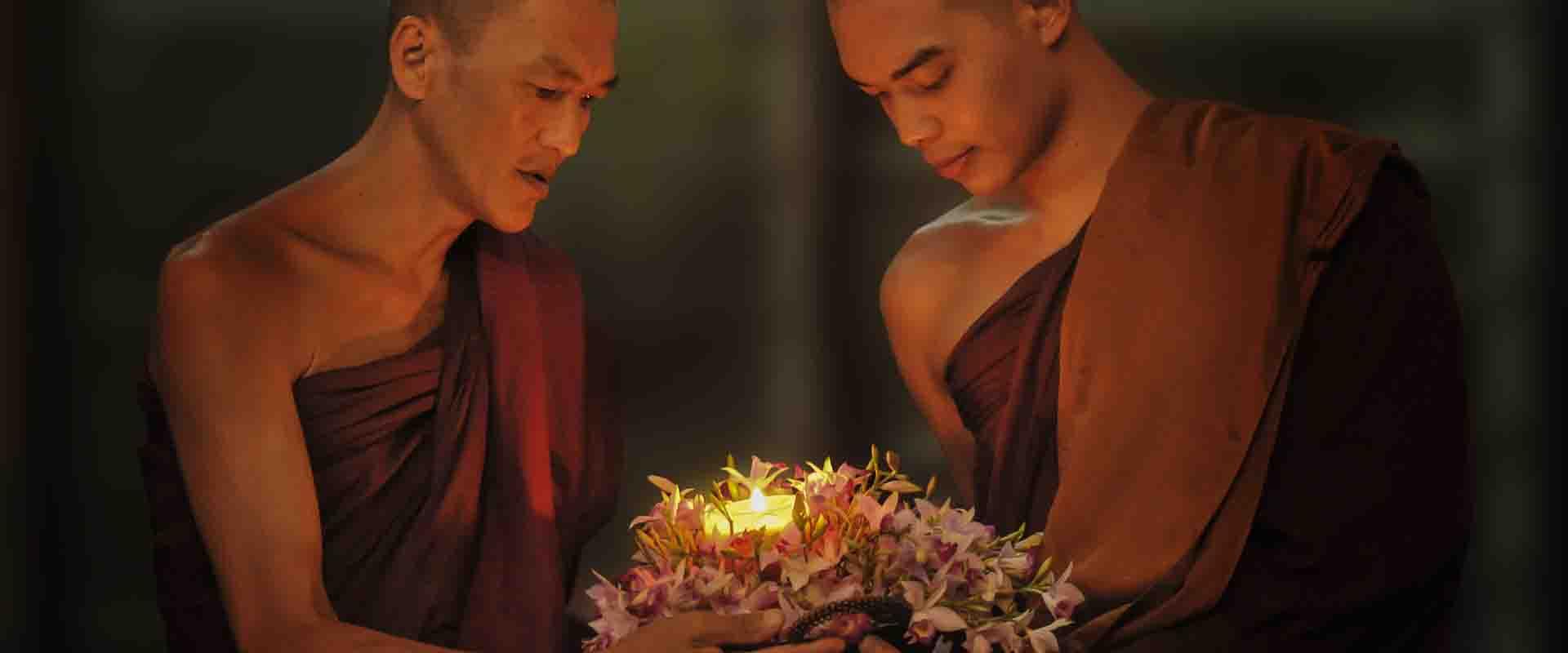saggezza monaci stabilità ed equilibrio Yin e Yang centro di meditazione Zorba Il Buddha