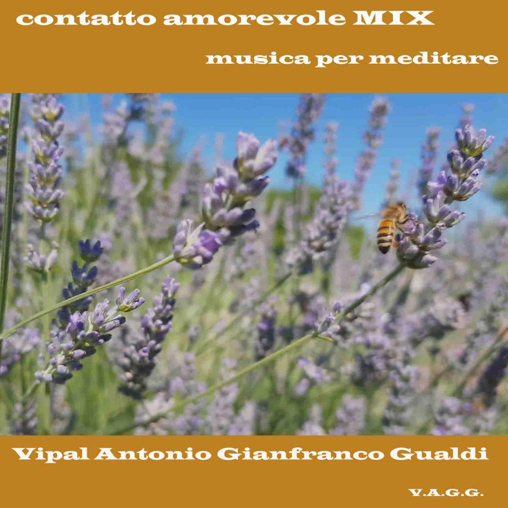 """Copertina mix """"Contatto Amorevole V.A.G.G. Vipal Antonio Gianfranco Gualdi"""